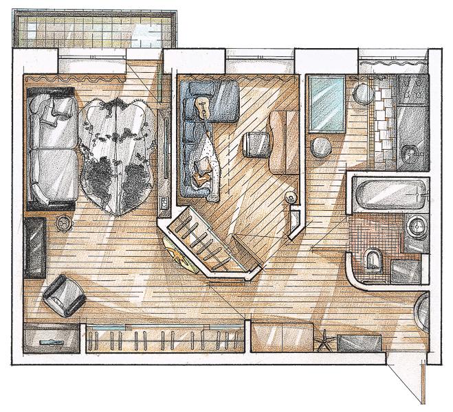 Пример квартиры.